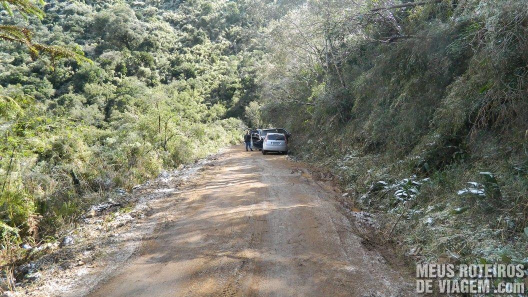 Acesso à cachoeira que congela - Urupema / Santa Catarina