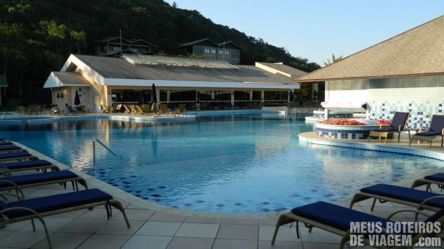 Piscina do Infinity Blue Resort e Spa - Balneário Camboriú