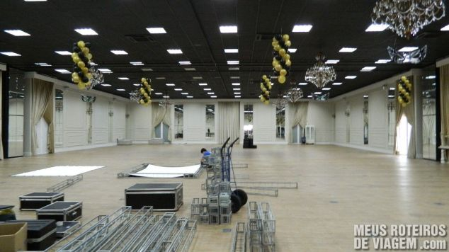 Centro de eventos do Infinity Blue Resort e SPA - Balneário Camboriú