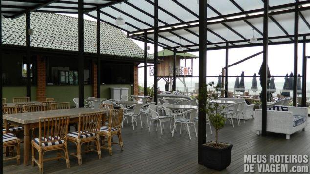 Bar da Praia do Infinity Blue Resort e SPA - Balneário Camboriú