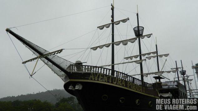 Barco Pirata - Balneário Camboriú
