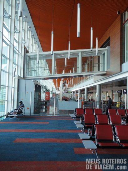 Novas salas de embarque do Aeroporto de Ezeiza - Buenos Aires
