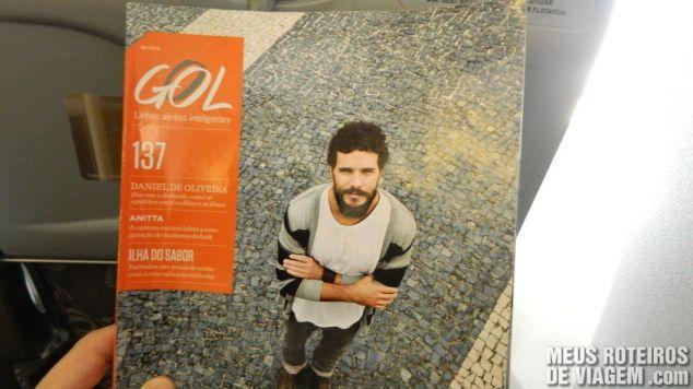 Revista de bordo da Gol