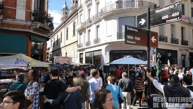Feirinha de San Telmo - Buenos Aires