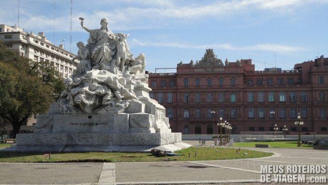 Fundos da Casa Rosada - Buenos Aires