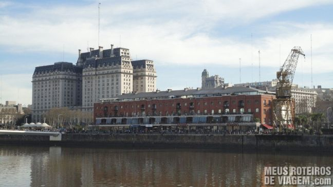 Prédios históricos em Puerto Madero - Buenos Aires, Argentina