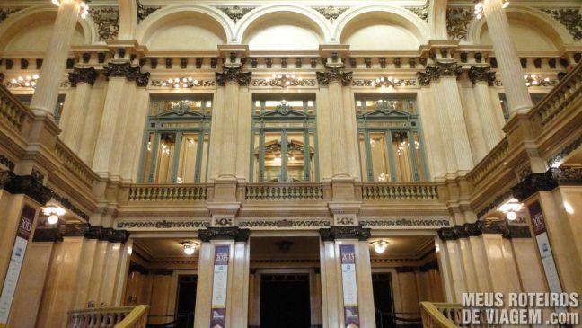 Hall do Teatro Colón - Buenos Aires, Argentina