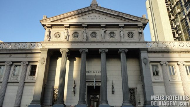 Edifício na praça General Lavalle - Buenos Aires