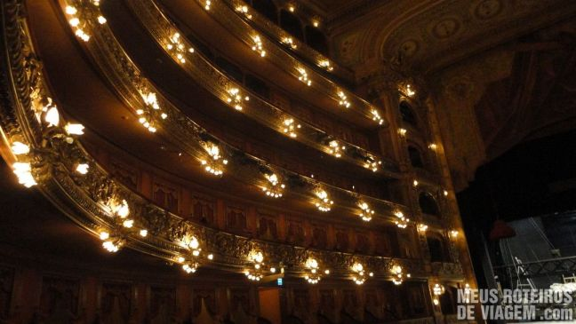 Camarotes do Teatro Colón - Buenos Aires