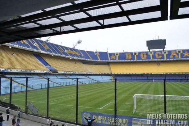 Estádio La Bombonera - Buenos Aires
