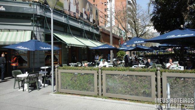 Cafés na Recoleta - Buenos Aires
