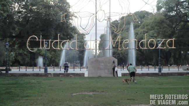 Plaza Independencia - Mendoza