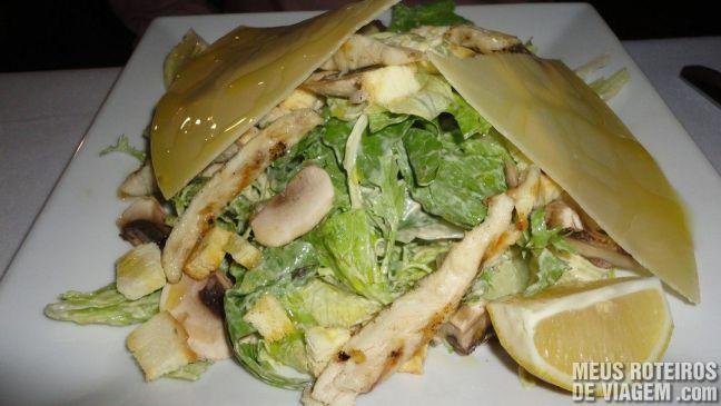 Salada no Restaurante Francesco - Mendoza, Argentina
