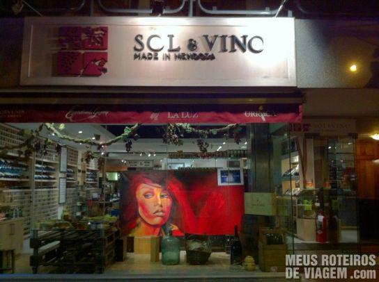 Loja de vinhos Sol y Vino - Mendoza, Argentina