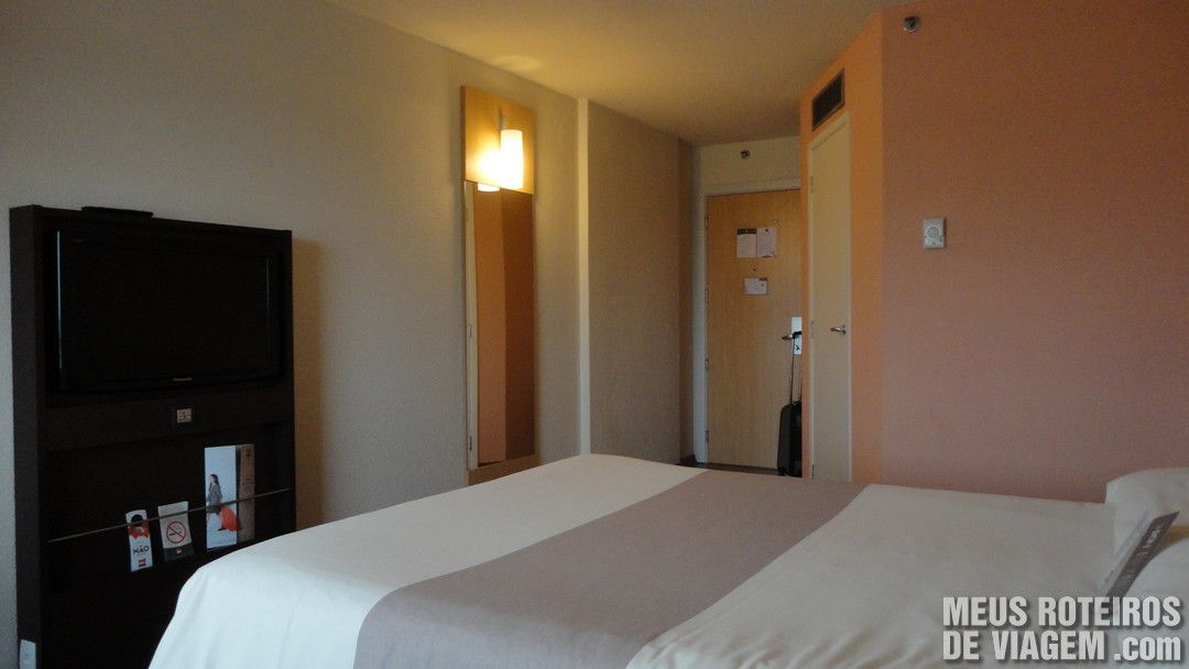 Quarto do Hotel Ibis São Paulo Congonhas