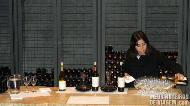 Degustação de vinhos na Salentein - Mendoza, Argentina