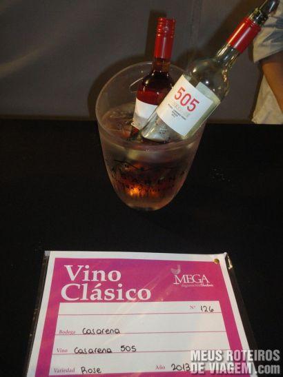 Opção de vinho clássico na Mega Degustação