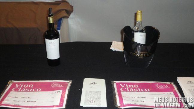 Opções de vinhos clássicos