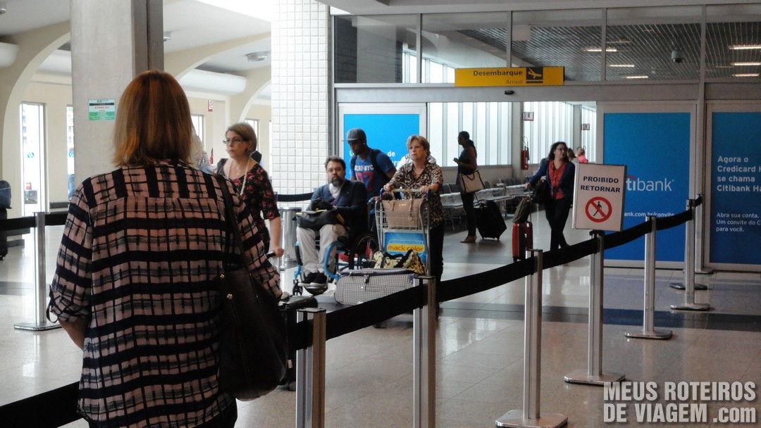 Desembarque no Aeroporto de Congonhas São Paulo