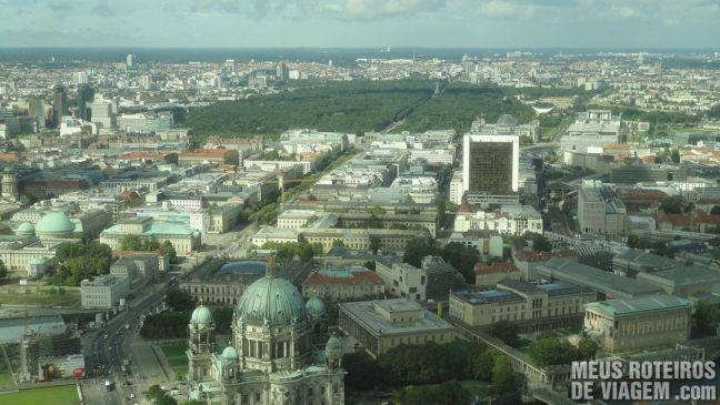 Berlim - vista da Torre de TV