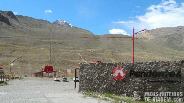 Estação de esqui Los Penitentes - Cordilheira dos Andes, Argentina