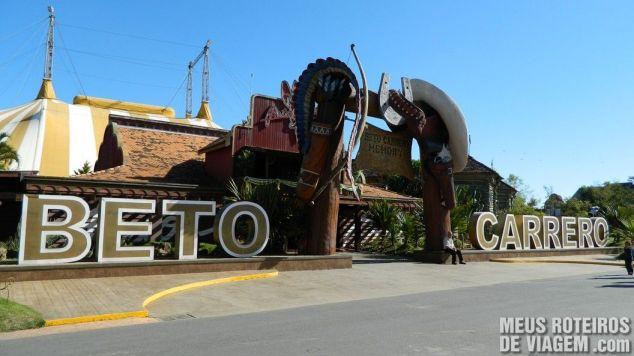Velho-oeste - Parque Beto Carrero World Penha/SC