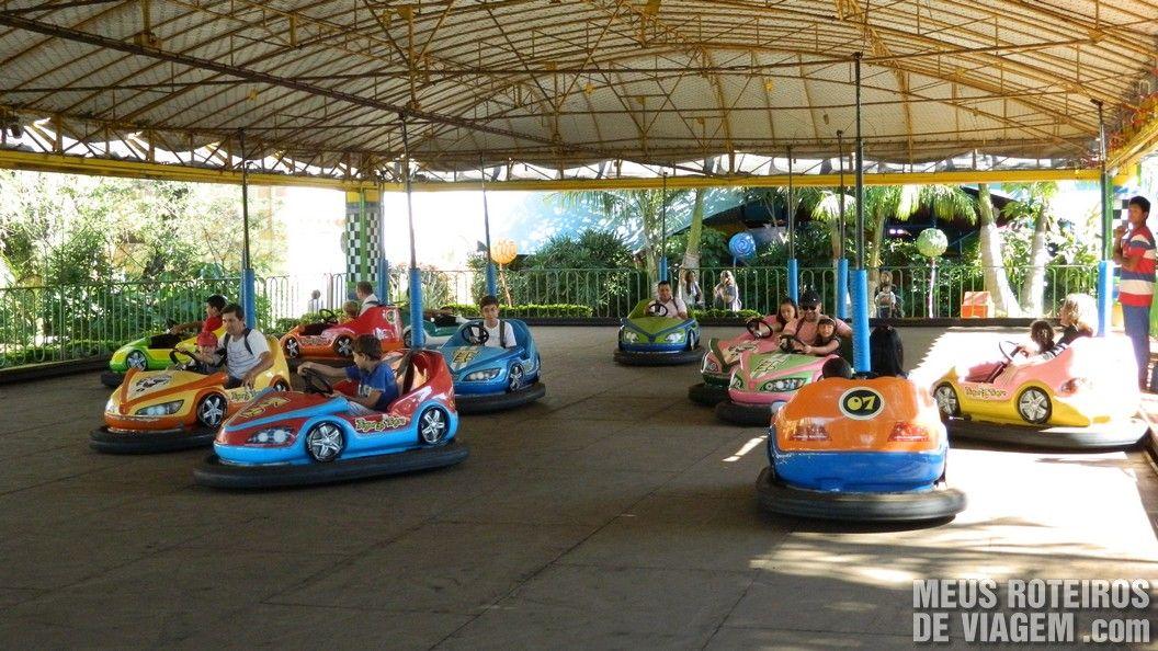 Carrinho de bate-bate - Parque Beto Carrero World Penha/SC