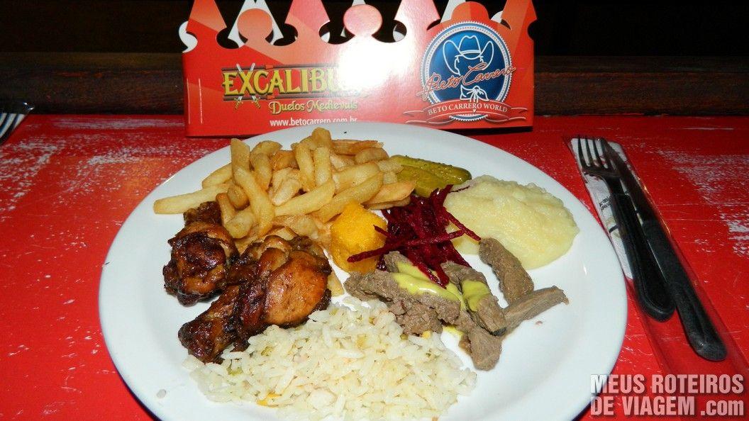 Show Excalibur - Parque Beto Carrero World Penha/SC