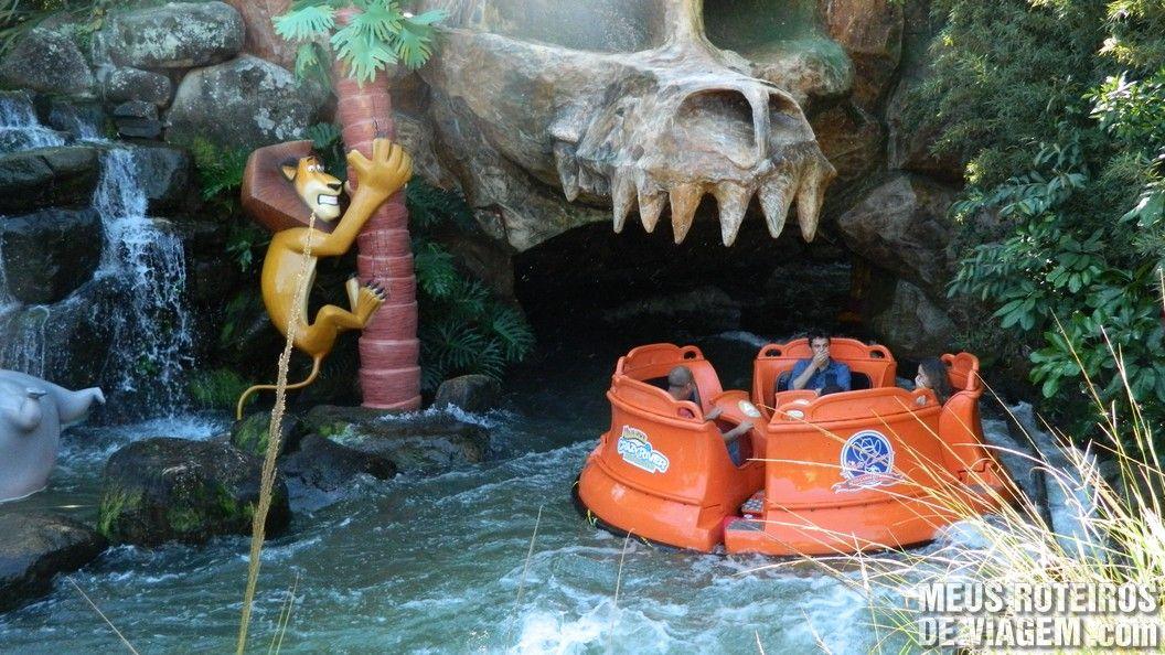 Crazy River Madagascar - Parque Beto Carrero World Penha/SC