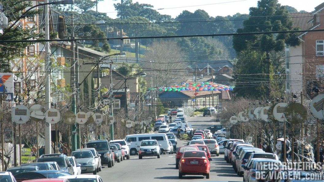 Rua Felisberto Soares - centrinho de Canela
