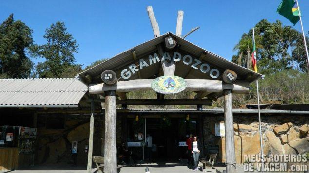 Entrada do Gramado Zoo