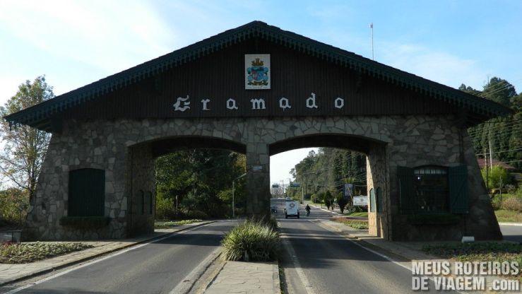 Pórtico de Gramado via Nova Petrópolis (para quem vem de Caxias do Sul)