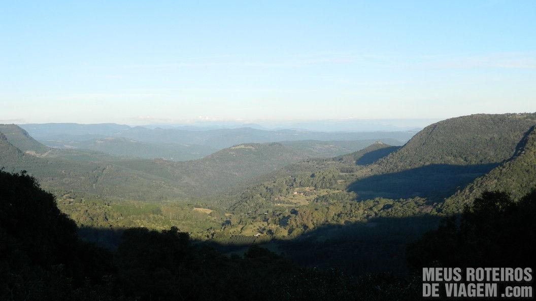 Vista do Mirante do Belvedere - Gramado
