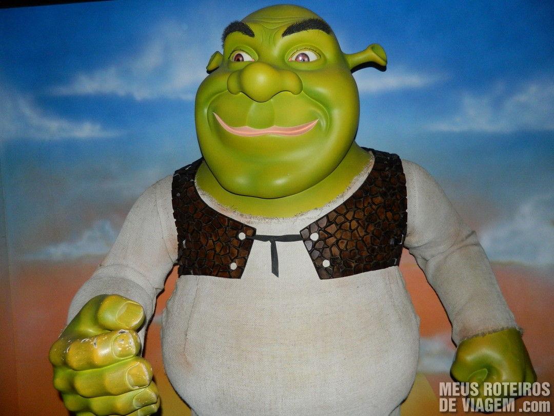 Shrek no Museu de Cera Dreamland