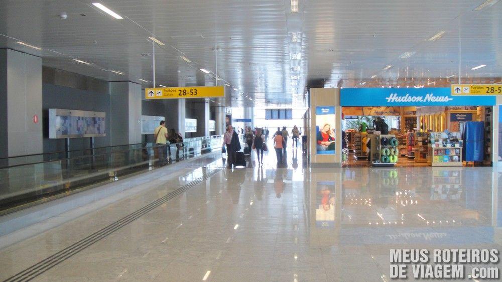 Embarque no Terminal 3 do Aeroporto de Guarulhos