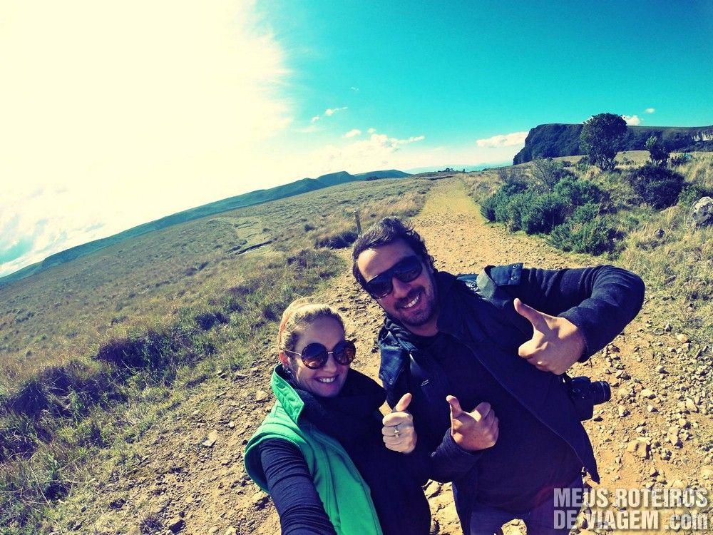 A Trilha do Mirante, com 1,7 km, é o caminho para a melhor vista do Canion Fortaleza