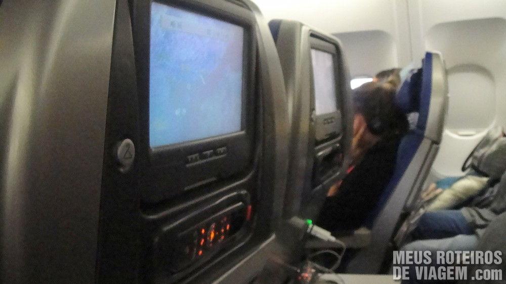 Assentos da classe econômica da Cathay Pacific