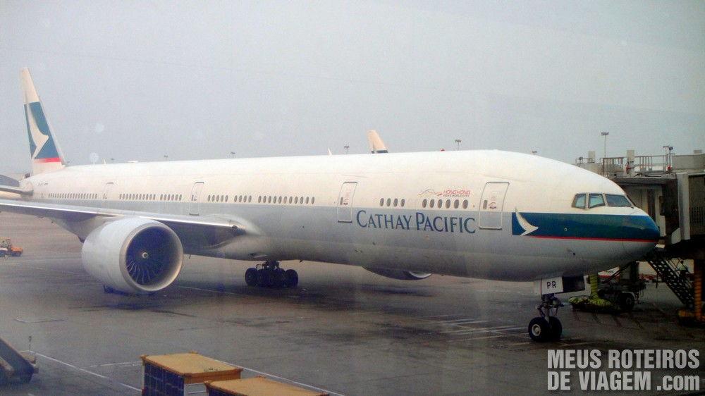 Airbus A340-300 da Cathay Pacific