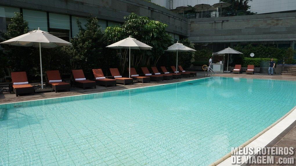 Piscina do Hotel Conrad Hong Kong