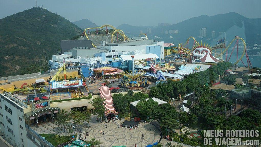 The Summit - Ocean Park, Hong Kong
