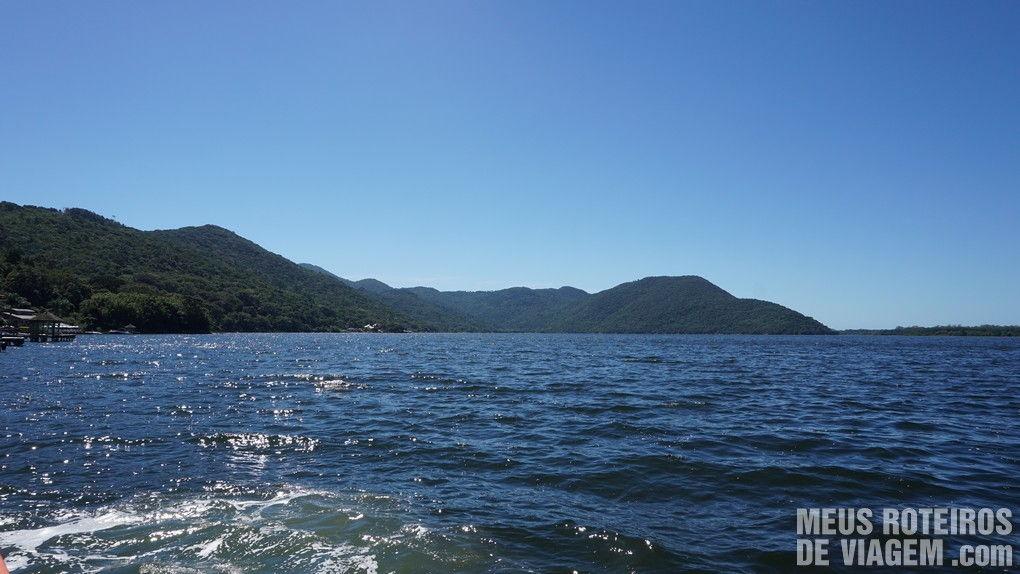 Navegando na Lagoa da Conceição - Floripa