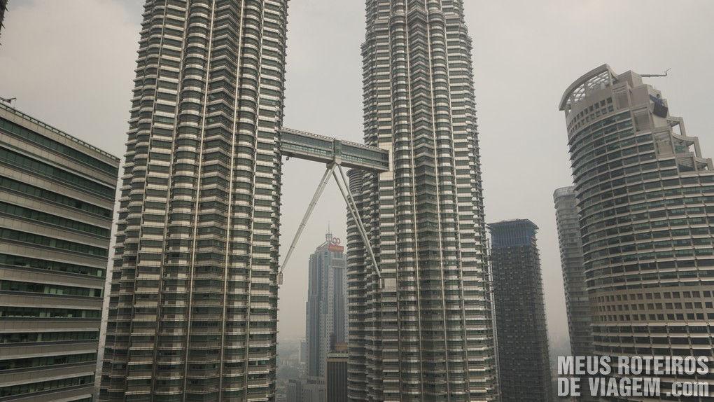 Petronas Towers - Hotel Mandarin Oriental Kuala Lumpur