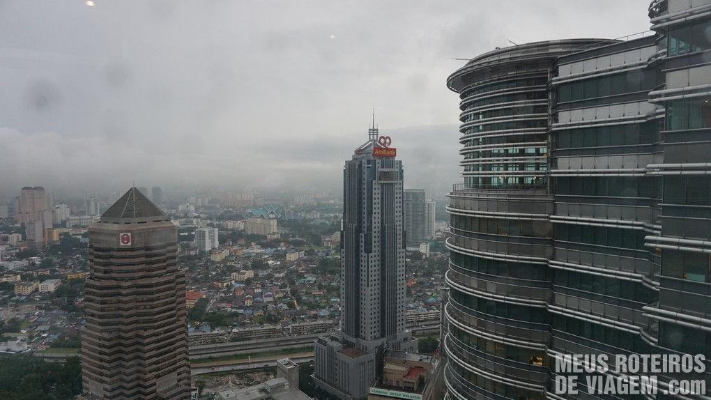 Vista das Petronas Towers - Kuala Lumpur, Malásia