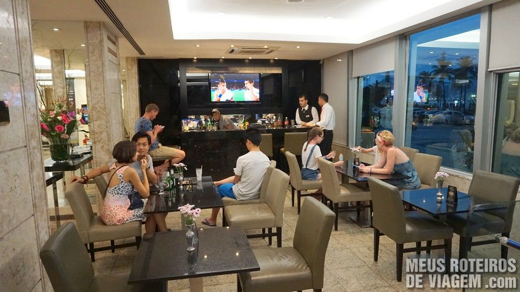 Bar do hotel Golden Tulip Regente - Rio de Janeiro