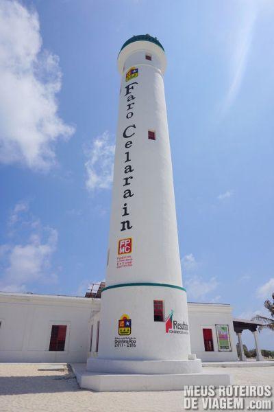 Farol Celarain - Parque Punta Sur, Cozumel
