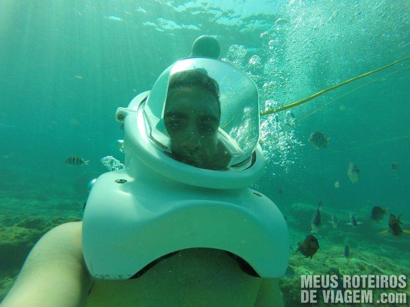 Mergulho Sea Trek - Cozumel, México
