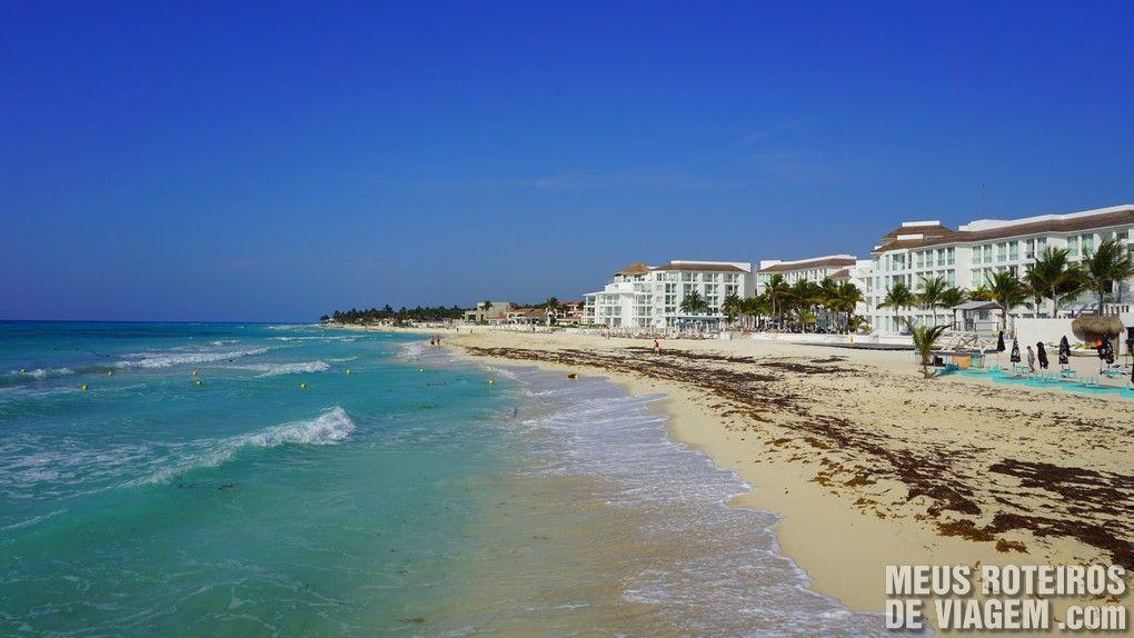 Praia de Playa del Carmen - México