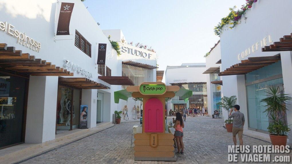 Shopping em Playa del Carmen - México