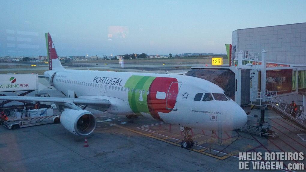 A320 da TAP no Aeroporto de Lisboa