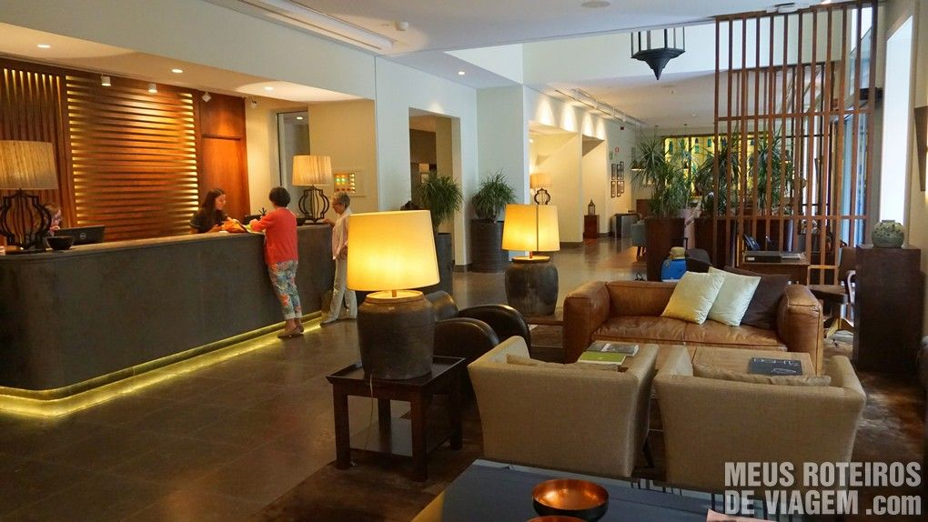 Recepção do Hotel Porto Bay Liberdade - Lisboa, Portugal
